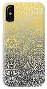 Silver Lace Frost IPhone Case