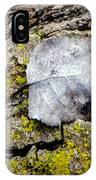 Silver Leaf IPhone Case