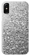 Silver Speckles  IPhone Case