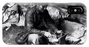 Silversmith At Work IPhone Case