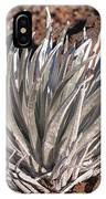 Silversword Leaves IPhone Case