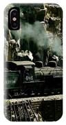 Silverton Steam Locomotive  IPhone Case