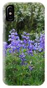 Silvery Lupine Black Canyon Colorado IPhone Case