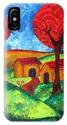 Simple Dreams Acrylic Painting IPhone Case