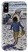 Simpler Times 2 - Miami Beach - Florida IPhone Case