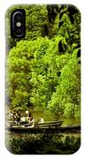 Simpler Times - Central Park - Nyc IPhone Case