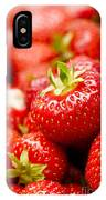 Simply Strawberries IPhone Case