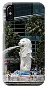 Singapore Merlion Park IPhone Case