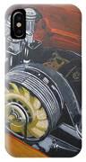 Singer Porsche Engine IPhone Case