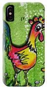 Singing Chicken  IPhone Case