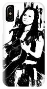Singing The Blues - Abstract IPhone Case