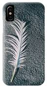 Single Feather IPhone Case