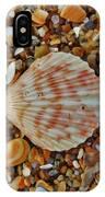 Single Shell Hatteras Island 17 9/3 IPhone Case