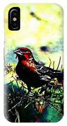 Sitting Alone  IPhone Case