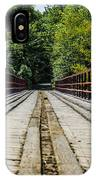 Sitting On A Bridge IPhone X Case