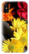 Six Dasies And A Carnation IPhone Case