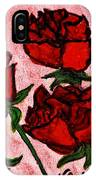 Six Roses IPhone Case