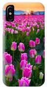 Skagit Valley Dawn IPhone Case