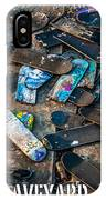 Skateboard Graveyard London England Poster IPhone Case