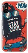 Skater Monster IPhone Case