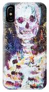 Skeleton With One Arm IPhone Case