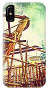 Skeletons In The Yard - Boatbuilding In Ecuador IPhone Case
