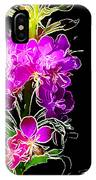 Sketchy Blooms IPhone Case