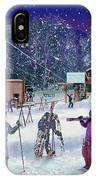 Ski Area Campton Mountain IPhone Case