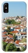 Skiathos Harbour In Greece IPhone Case