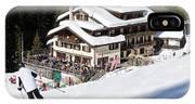 Skihaus Schifer Skier Davos Parsenn Klosters IPhone Case