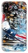 Skiing 04 IPhone Case