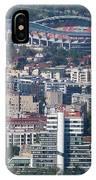 Skopje City And Stadium IPhone Case