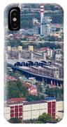 Skopje Railway Station IPhone Case