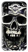 Skull And Chains IPhone X Case