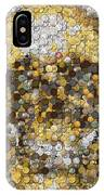 Skull Coins Mosaic IPhone Case