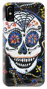Skull Flowers IPhone Case