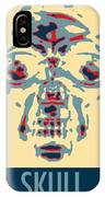 Skull In Negative Hope IPhone Case