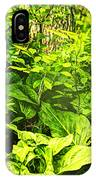 Skunk Cabbage Thicket IPhone Case