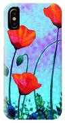 Sky Poppies IPhone Case