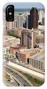 Skyline Aerial Of St. Paul Minnesota IPhone Case