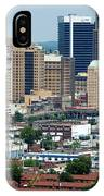 Skyline Of Birmingham IPhone Case