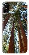 Skyscrapers - A Grove Of Giant Sequoia Trees In Sequoia National Park In California IPhone X Case by Jamie Pham