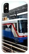 Skytrain Carriage Metro Railway At Nana Station Bangkok Thailand IPhone Case