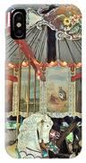 Slater Park Carousel Rounding Board IPhone Case