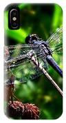 Slaty Skimmer Dragonfly IPhone Case