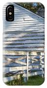 Slave Huts On Southern Farm IPhone Case