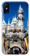 Sleeping Beauty's Castle IPhone Case