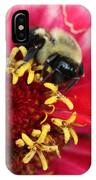 Sleeping Bumble Bee IPhone Case