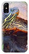 Sleeping Turtle IPhone X Case