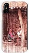 Slice Of Life Mud Oven Chulha Tandoor Indian Village Rajasthani 1c IPhone Case
